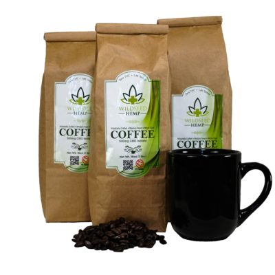 CBD Coffee Dark Roast