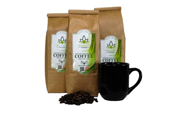 CBD Coffee Dark Roast