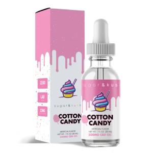 Sugar & Kush CBD Oil Drop - Cotton Candy