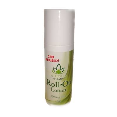 CBD Roll On Lotion 1500mg