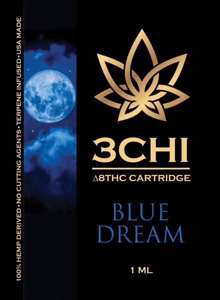 Delta 8 3 Chi cart Blue Dream