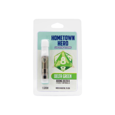 Home Town Hero D8 Delta Green Cart