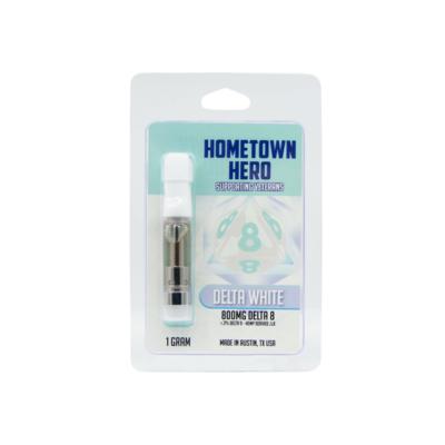 Hometown Hero D8 Delta White Cart