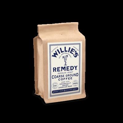 willies medium roast CBD coffee