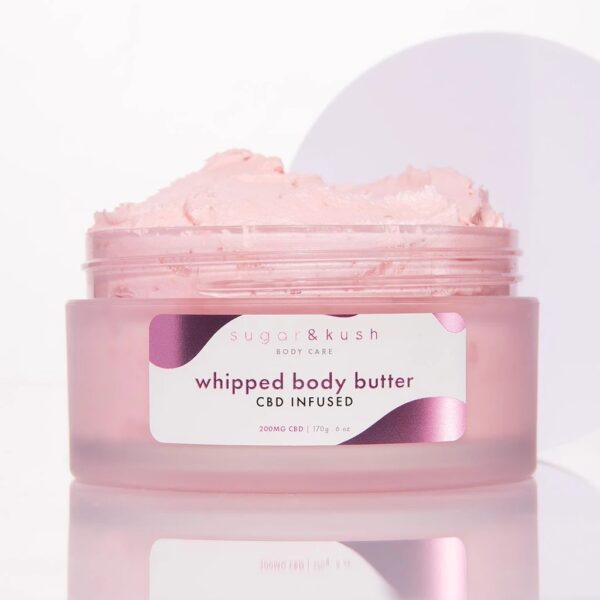 cbd infused whipped butter