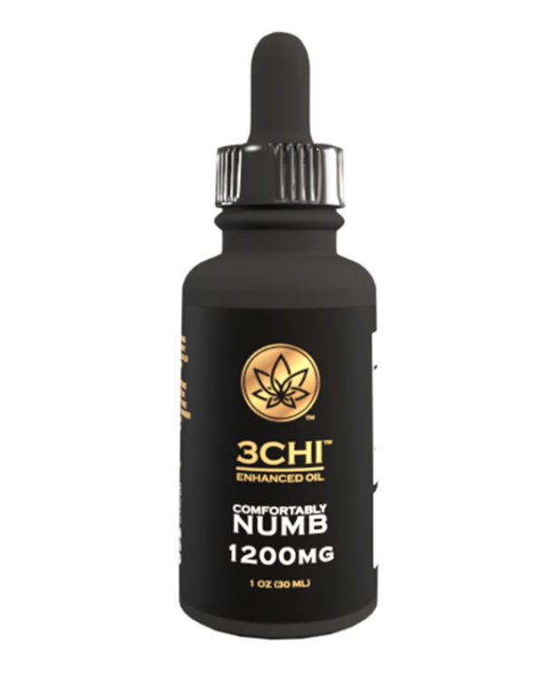 3 chi Comfortably numb Tincture delta 8 THC and CBN