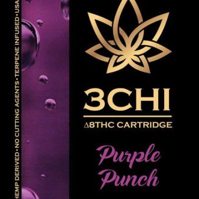 3 chi delta 8 thc cart purple punch