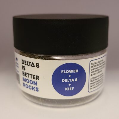 DELTA 8 IS BETTER FLOWER 3.5G – Moon Rocks