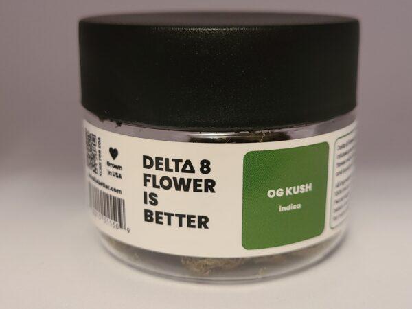 DELTA 8 IS BETTER FLOWER 3.5G – OG KUSH