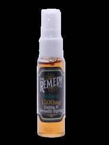 Remedy delta 8 THC breath spray