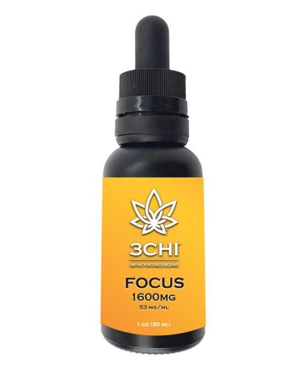 Delta 8 thc 3CHI Focus blend Focus tincture