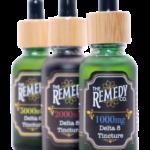 The Remedy Tincture delta 8 THC